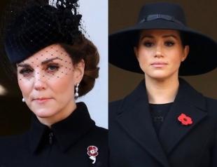 Королевская семья Великобритании появилась на церемонии в честь Дня памяти павших (ФОТО+ВИДЕО)
