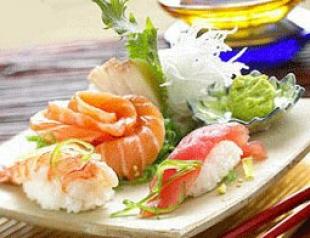 Суши - тайна японской кухни