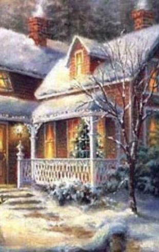 Белоснежные мелодии любви или Рождественские сказки нашей жизни