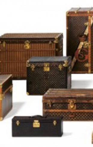 Louis Vuitton воздает должное 100 легендарным дорожным сумкам