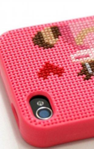Вышивай крестиком... на своем iPhone!