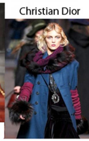 Мода с подиума: трендовые шарфы этого сезона