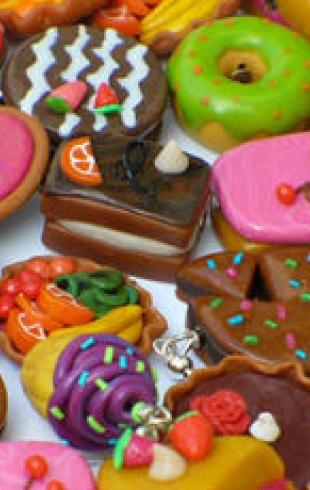 Изысканные  угощения для сладкоежек