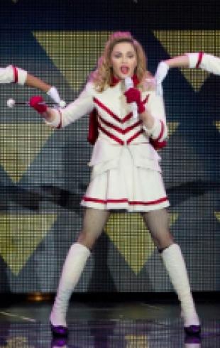 Мадонна дала первый концерт тура MDNA. Фото и Видео