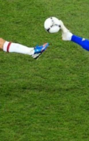 Лучшие моменты матчей Евро-2012. Фото