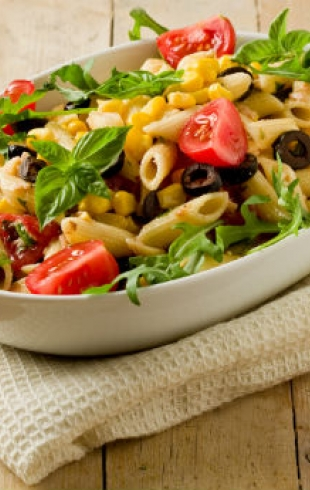 Как приготовить пасту-салат?