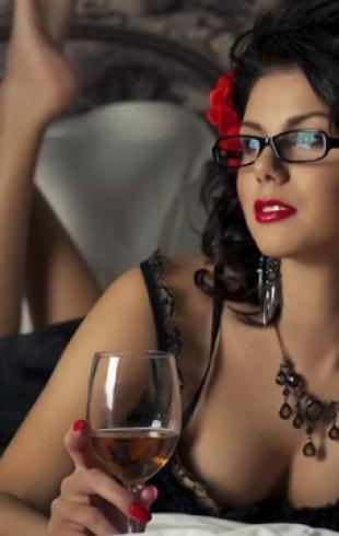 Как по выбору спиртного определить характер женщины?