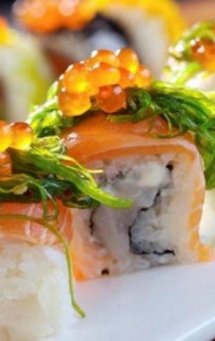 Специалисты заявили, что суши вреднее фастфуда