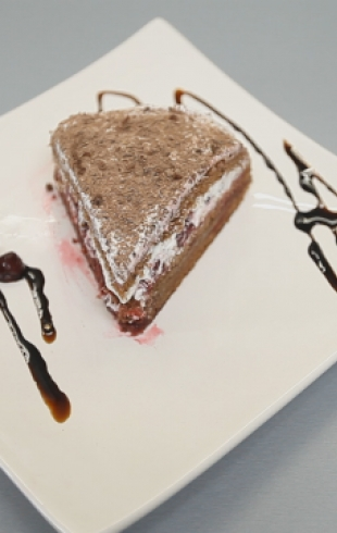 """Торт """"Черный лес"""". Видео-рецепт"""
