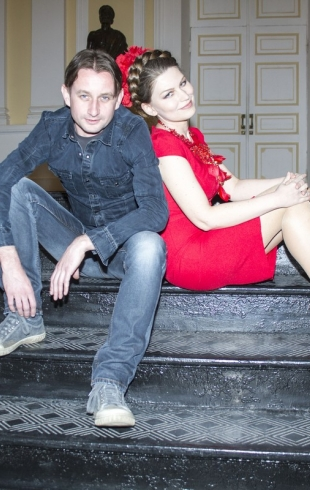 Лада Лузина и Сергей Жадан презентовали книгу «Палата №7»