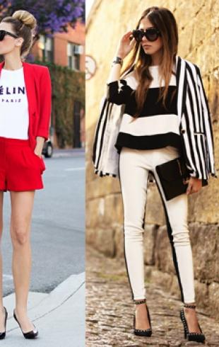 Летние образы от модных блоггеров