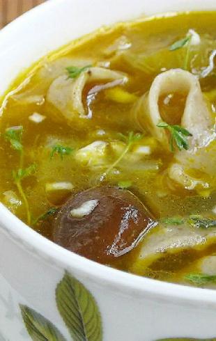 Летний рецепт: белорусская окрошка с грибами