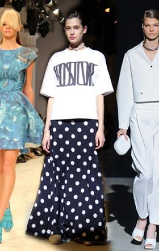 Ukrainian Fashion Week: тренды сезона весна-лето 2014