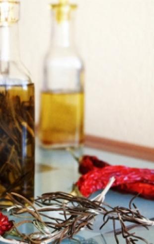 Как сделать оливковое масло с перцем