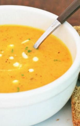 Постные супы: топ 5 вариантов