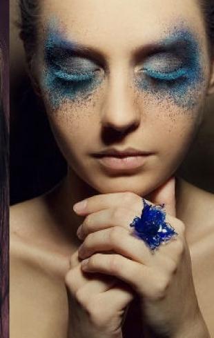 Новогодний макияж 2014: фото