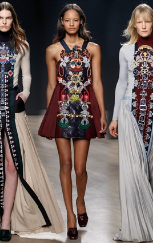 Неделя моды в Лондоне: Mary Katrantzou осень-зима 2014-2015