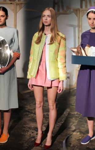 Показ RCR Khomenko открыл Kiev Fashion Days F/W 2014
