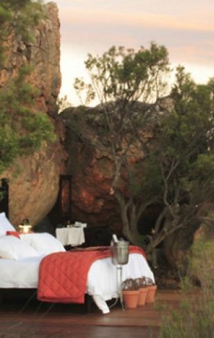 В Южной Африке появился первобытный отель