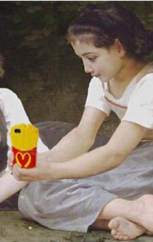 Крис Реллас забрендировал знаменитые полотна