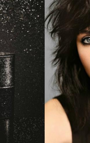 Вышел ролик в поддержку нового аромата Yves Saint Laurent Black Opium