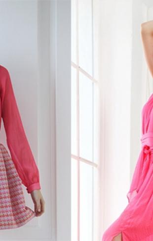 Розовый цвет в одежде и его секреты
