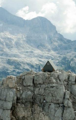 В Альпах построили бесплатный мини-отель