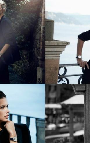 Кейт Бланшетт, Адриана Лима и Каролина Куркова снялись в рекламе швейцарских часов IWC