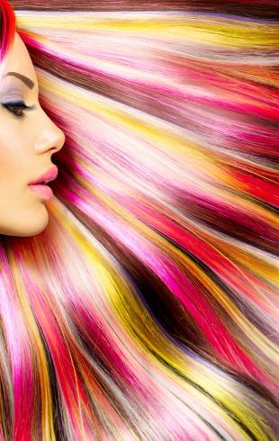 Как ухаживать за цветными волосами