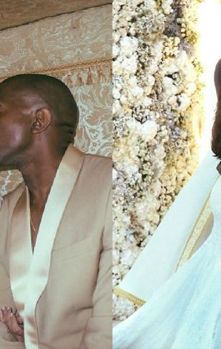 Как выходят замуж звезды: свадебное видео Ким Кардашьян