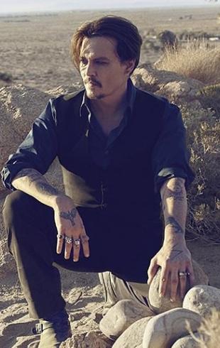 Джонни Депп в пустыне: компания Dior организовала квест с актером