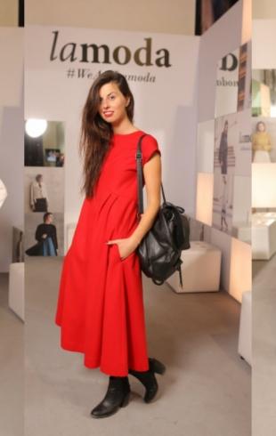 Неделя моды в Украине: как одеваются гости модных показов первого дня