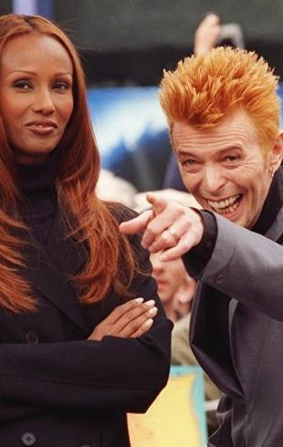 Иман и Дэвид Боуи: совместные фото самой стильной пары в мире