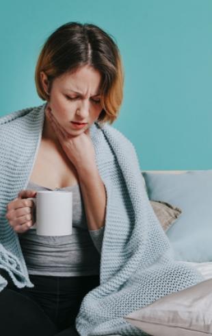 Как избавиться от боли в горле?