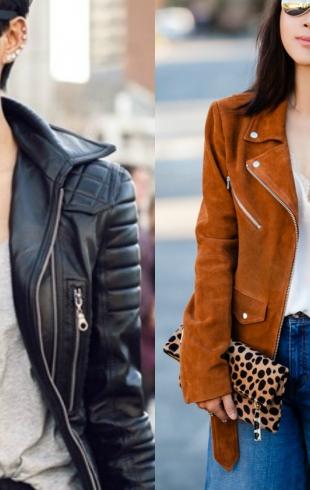 Street style: как носить косуху