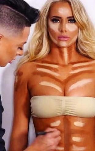 Контуринг для всего тела: новый бьюти-тренд 2016