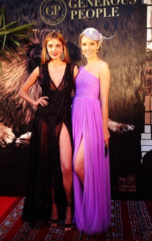 Украинки в Каннах: благотворительный вечер топ-модели Алины Байковой