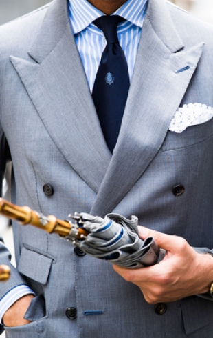 Мужской выход: street style на Неделе мужской моды в Лондоне