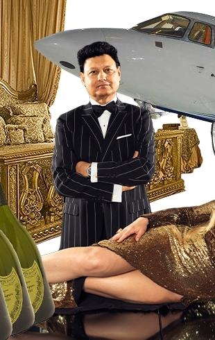 Как это – быть богатым: жизнь Камалии Захур (ванны из шампанского, частные самолеты, гардероб и штат прислуги)