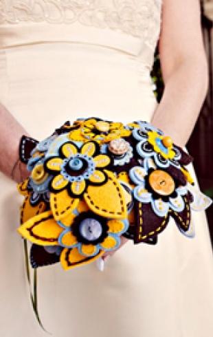 Самые необычные свадебные букеты. ФОТО