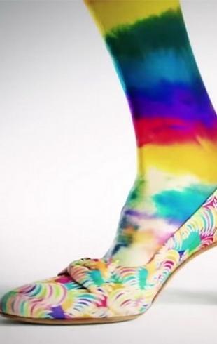 Эволюция туфель: как поменялась мода на женскую обувь за 100 лет  (ВИДЕО)
