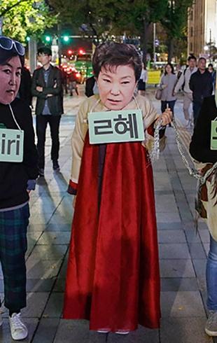 А страной-то правит другой человек: как женщина-президент Кореи оказалась марионеткой в руках близкой подруги