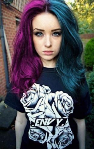 Новые пристрастия модниц: двухцветное окрашивание волос (ФОТО)
