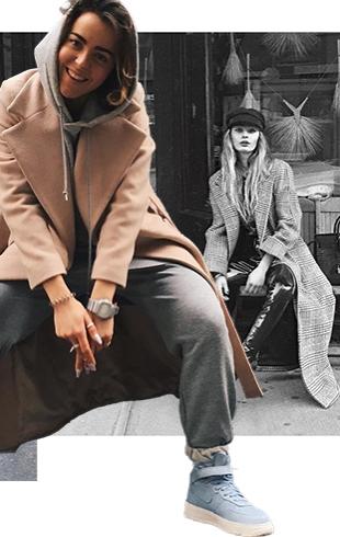 Как модные девушки одеваются зимой: 75 стильных зимних образов из Instagram