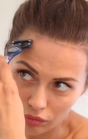 Радикальные меры: Виктория Боня удивила фанов бритьем лица ради высокого лба (ВИДЕО)