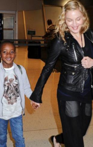 Мадонна разгуливает без макияжа. ФОТО