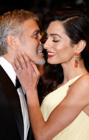 Свидание в Венеции: Джордж и Амаль Клуни устроили романтический вечер (ФОТО)