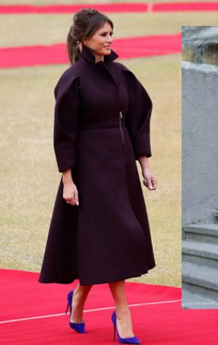 Одеться как первая леди: образ и пальто как у Мелании Трамп