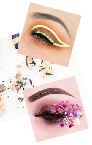Instagram-тренды: как сделать интересные стрелки на глазах