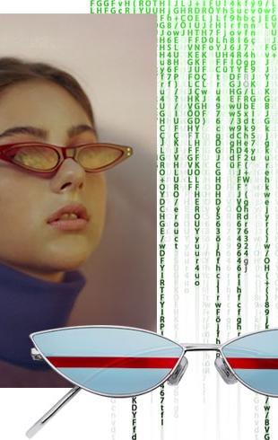 Привет из 90-х — как подобрать узкие очки и с чем их носить